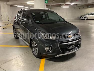 Chevrolet Spark Active  usado (2018) color Gris Titanio precio $198,000