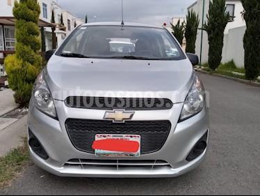 Foto venta Auto usado Chevrolet Spark LS (2015) color Plata precio $87,200