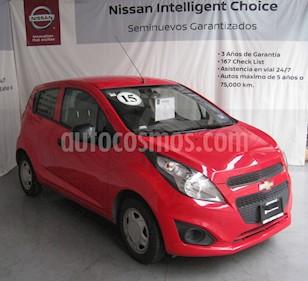 Foto venta Auto usado Chevrolet Spark LS (2015) color Rojo precio $100,000