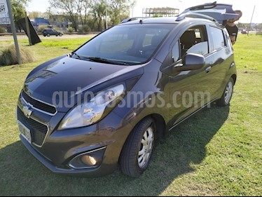 Foto venta Auto usado Chevrolet Spark LT (2015) color Gris Oscuro precio $285.000