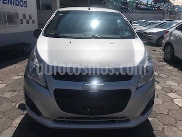 Foto venta Auto usado Chevrolet Spark LT (2016) color Plata precio $119,500