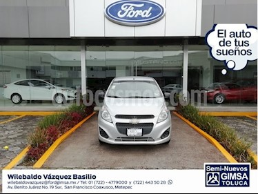 Foto venta Auto usado Chevrolet Spark LT (2016) color Plata precio $110,000