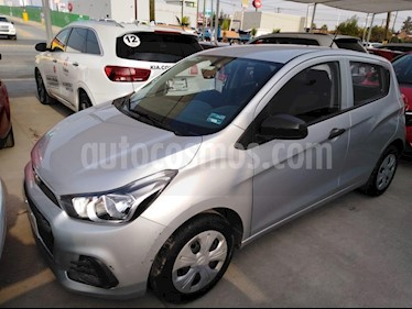 Foto venta Auto usado Chevrolet Spark LT (2017) color Plata precio $159,000