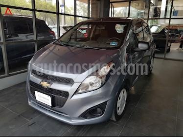Foto venta Auto usado Chevrolet Spark LT (2017) color Gris Titanio precio $128,000