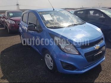 Foto venta Auto usado Chevrolet Spark LT (2015) color Azul precio $90,000