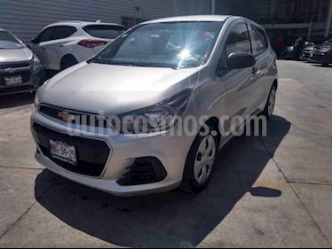 Chevrolet Spark LT usado (2016) color Plata precio $129,000