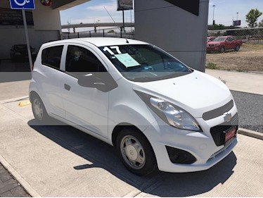 Chevrolet Spark LT usado (2017) color Blanco precio $145,000