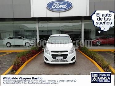 Foto venta Auto usado Chevrolet Spark LT (2016) color Blanco precio $110,000