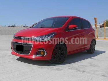 Foto venta Auto usado Chevrolet Spark LTZ (2017) color Rojo Flama precio $163,000