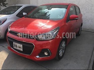 Foto venta Auto usado Chevrolet Spark LTZ (2018) color Rojo Flama precio $219,000