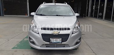 Chevrolet Spark LTZ usado (2016) color Plata Metalico precio $125,000