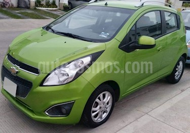 Foto venta Auto usado Chevrolet Spark LTZ (2015) color Verde Lima precio $124,000