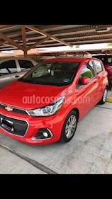 Foto venta Auto usado Chevrolet Spark LTZ (2017) color Rojo precio $175,000