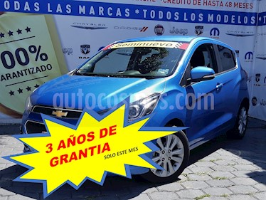 Foto Chevrolet Spark LTZ usado (2018) color Azul Splash precio $179,000