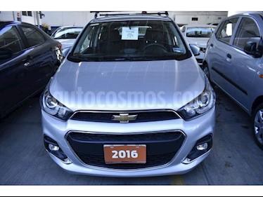 Foto venta Auto usado Chevrolet Spark LTZ (2016) color Plata precio $152,000