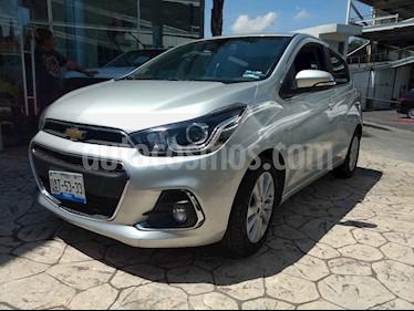 Foto venta Auto usado Chevrolet Spark LTZ (2017) color Plata precio $177,000