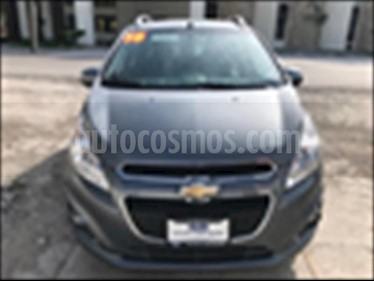 Foto venta Auto usado Chevrolet Spark LTZ (2016) color Gris Oscuro precio $135,000