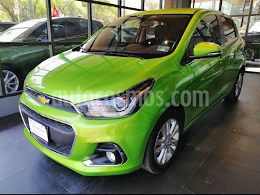 Foto venta Auto usado Chevrolet Spark LTZ (2016) color Verde Lima precio $138,000