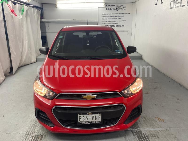 Chevrolet Spark LT usado (2017) color Rojo Flama precio $130,000