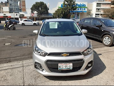 Chevrolet Spark LTZ usado (2017) color Plata Metalico precio $154,000