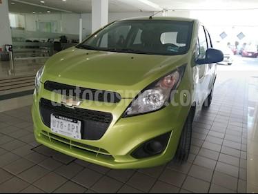 Chevrolet Spark LT usado (2017) color Verde Lima precio $117,800
