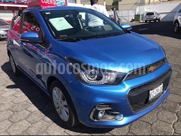 Chevrolet Spark Paq C usado (2018) color Azul precio $195,000