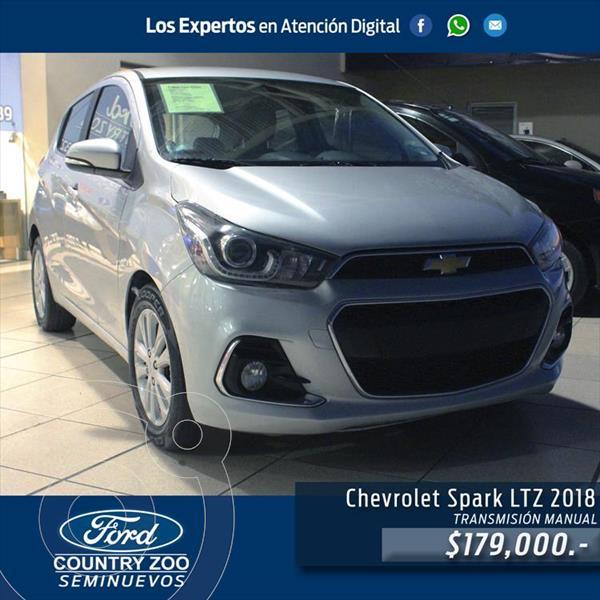 Chevrolet Spark LTZ usado (2018) color Plata precio $179,000