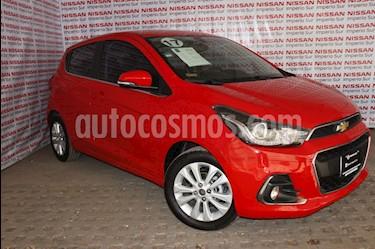 Chevrolet Spark LTZ usado (2017) color Rojo Flama precio $159,000