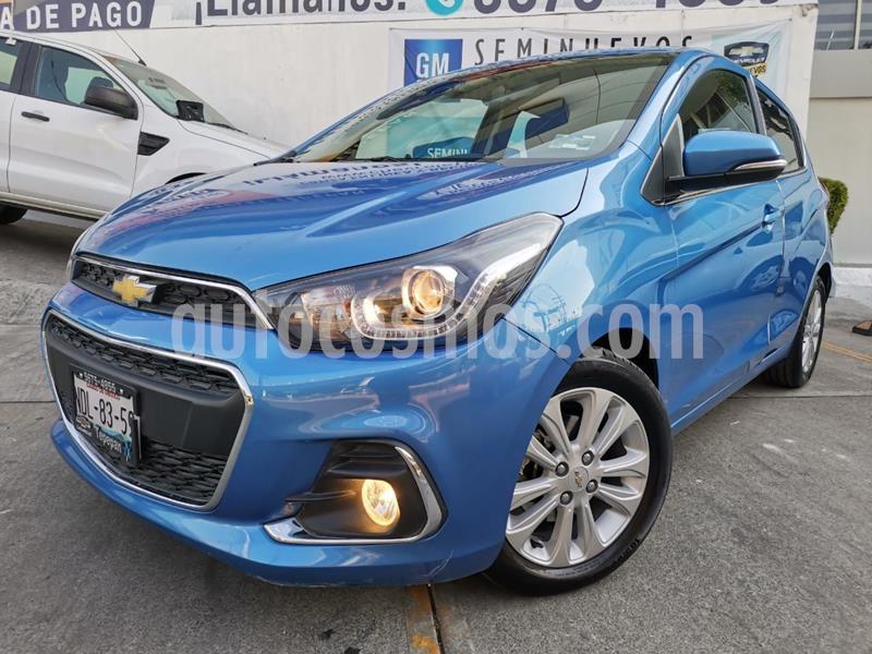 Chevrolet Spark LTZ usado (2018) color Azul precio $181,000