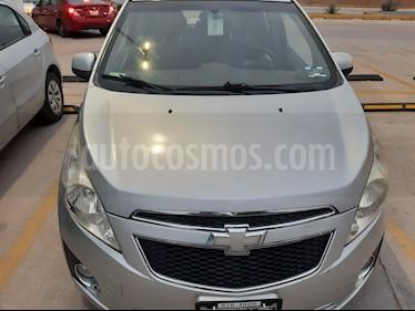 Chevrolet Spark Paq C usado (2012) color Plata precio $90,000