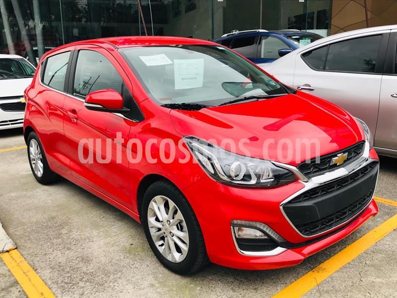 Chevrolet Spark LTZ usado (2019) color Rojo precio $210,000