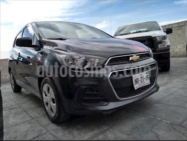 Chevrolet Spark LT usado (2017) color Gris Oscuro precio $149,000