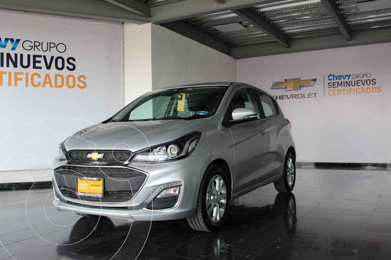Chevrolet Spark LTZ usado (2019) color Plata Dorado precio $255,000