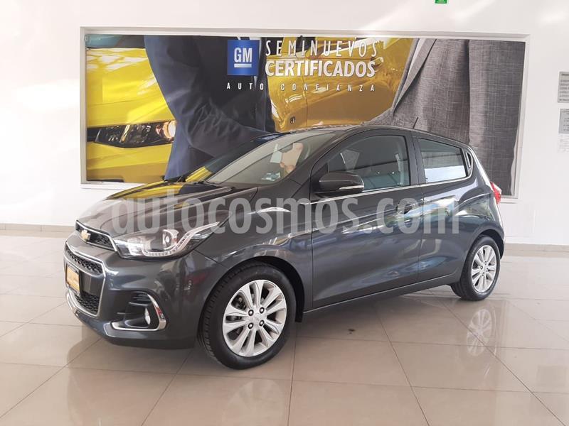 Chevrolet Spark LTZ usado (2018) color Gris Oscuro precio $178,900