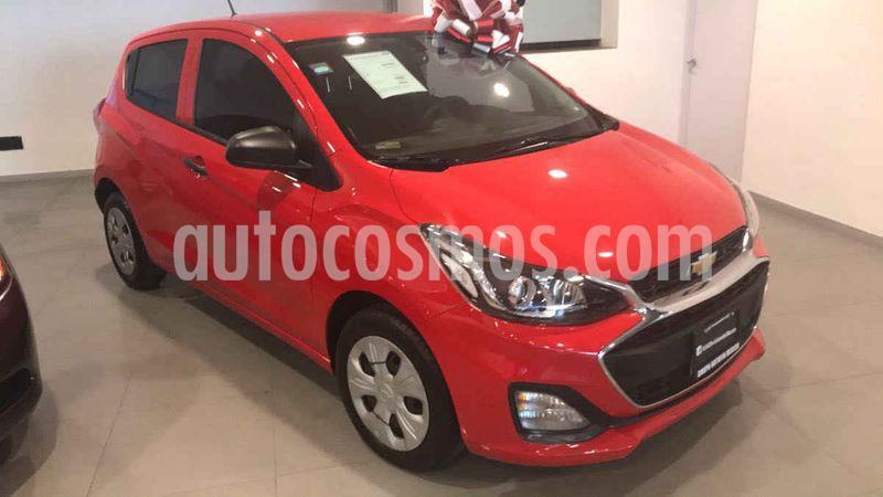 Chevrolet Spark LT usado (2019) color Rojo Granada precio $155,000