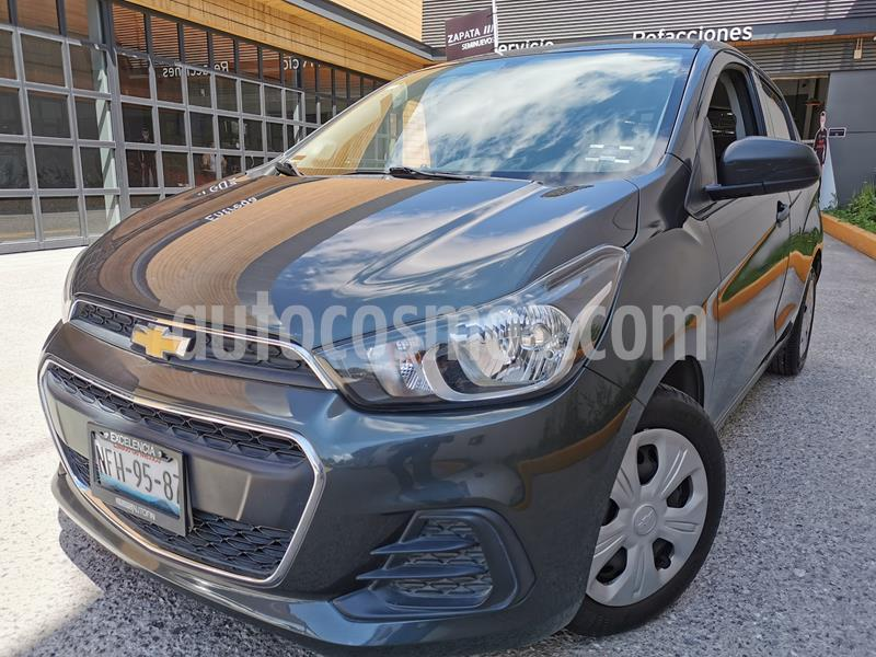 Chevrolet Spark LT usado (2018) color Gris Titanio precio $155,000