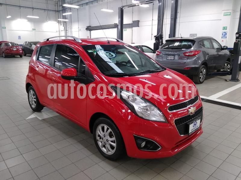 Chevrolet Spark LTZ usado (2013) color Rojo precio $105,000