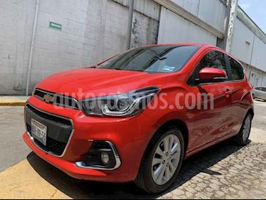 Chevrolet Spark 5p LTZ L4/1.4 Man usado (2017) color Rojo precio $148,000