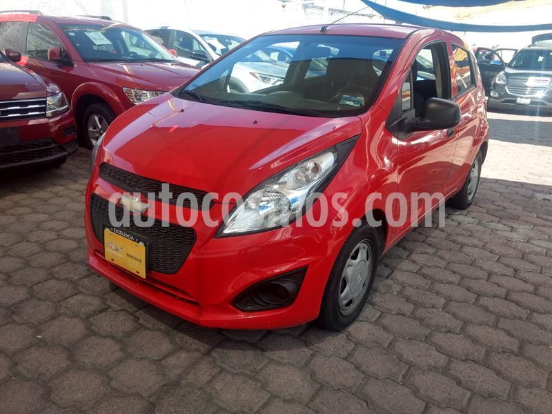 Chevrolet Spark LT usado (2017) color Rojo precio $130,000