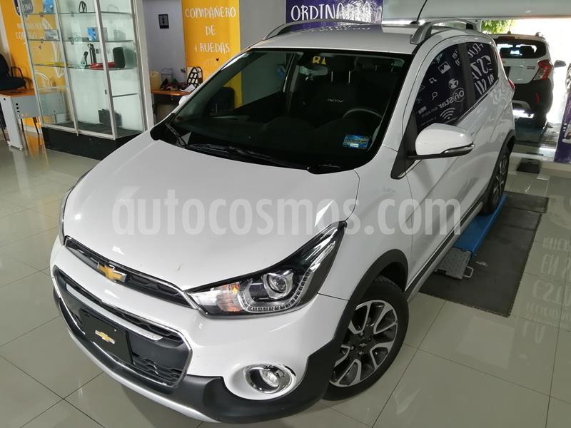Chevrolet Spark Active usado (2018) color Blanco precio $212,000