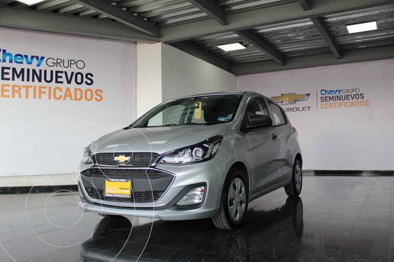 Chevrolet Spark LT usado (2019) color Plata Dorado precio $205,000