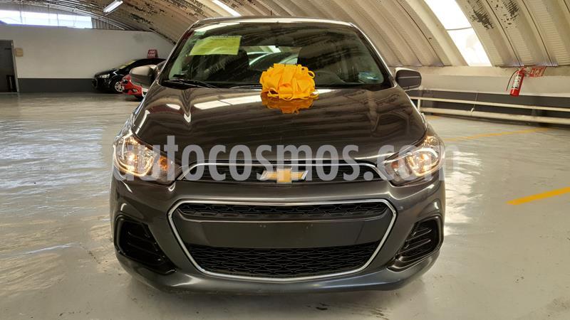 Chevrolet Spark LT usado (2018) color Gris Titanio precio $159,000