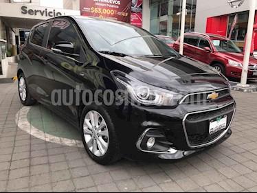 Chevrolet Spark 5p LTZ L4/1.4 Man usado (2017) color Negro precio $179,000