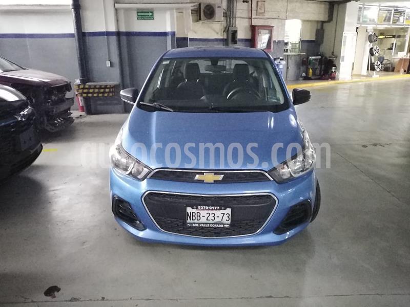 Chevrolet Spark LT usado (2017) color Azul Splash precio $140,000