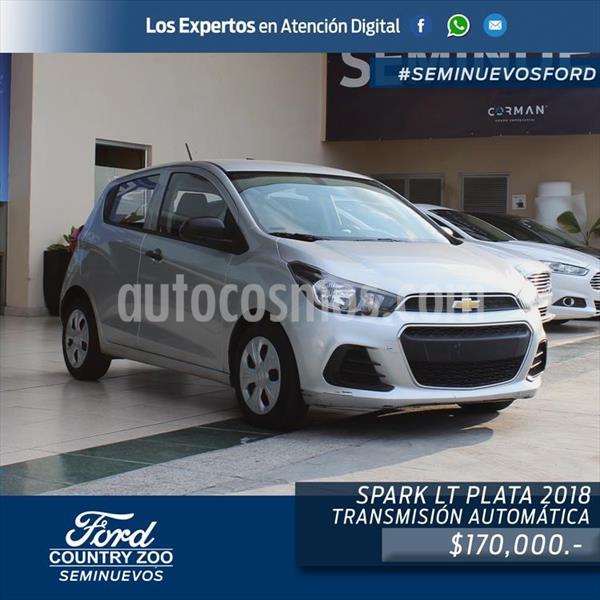 Chevrolet Spark LT usado (2018) color Plata precio $170,000
