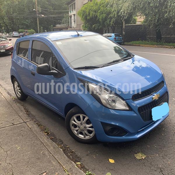Chevrolet Spark Paq B usado (2015) color Azul Espacio precio $87,000
