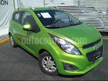 Chevrolet Spark Paq C usado (2014) color Verde Lima precio $95,000