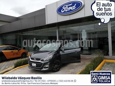 Chevrolet Spark Premier CVT usado (2019) color Gris Oscuro precio $198,000