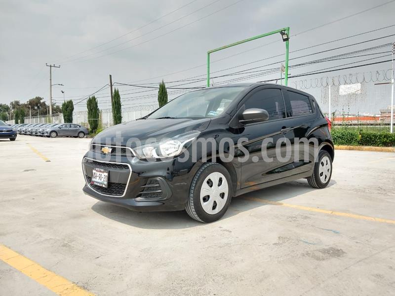 Chevrolet Spark Paq B usado (2017) color Negro precio $145,000