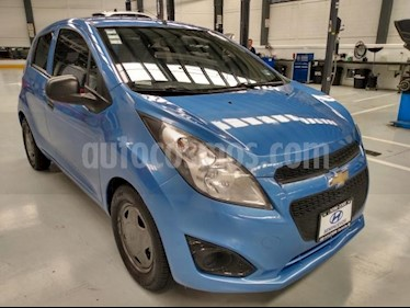 Chevrolet Spark 5P HB LT AT A/AC. CD usado (2015) color Azul precio $89,900